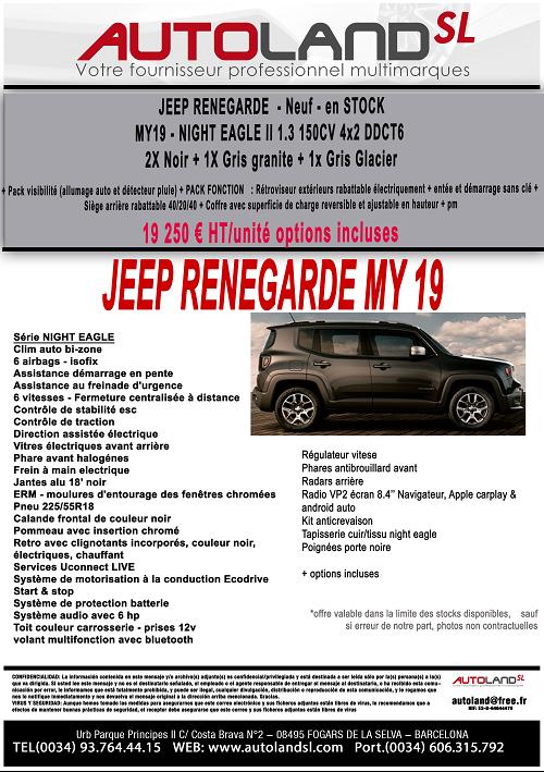 Super prix Jeep Renegade